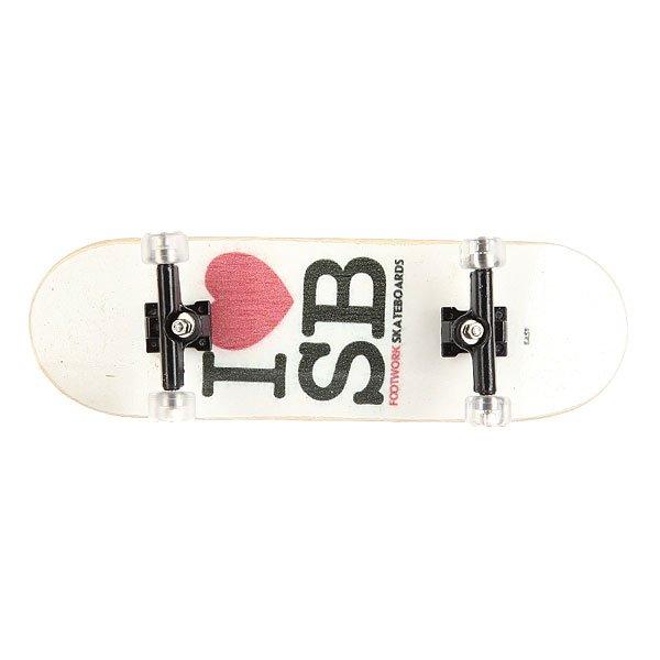 Фингерборд Turbo-FB П9 I Love SB/White/Black/Clear
