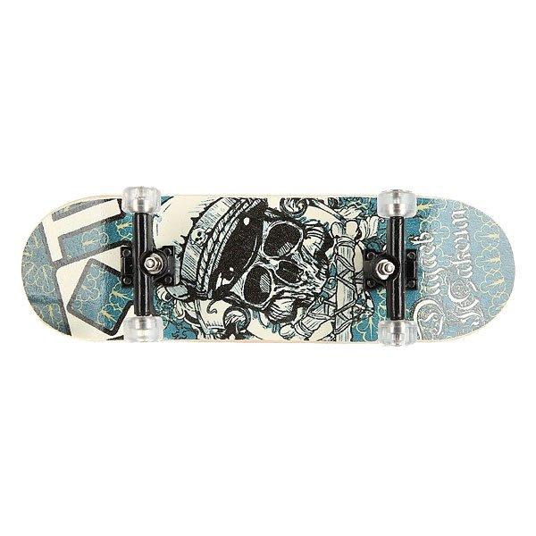 Фингерборд Turbo-FB П9 Skull/Light Blue/Black/Clear