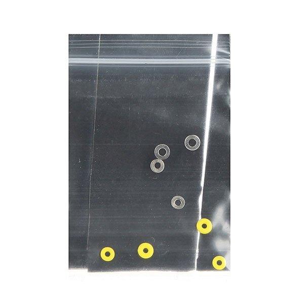 Набор шкурок для фингерборда (3 шт.) Turbo-FB Black/Grey/Yellow