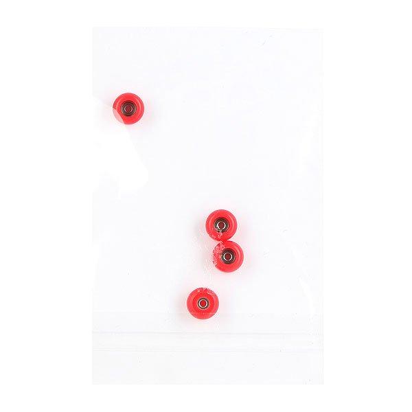 Колеса для скейтборда для фингерборда Turbo-FB ШыLz 8 х 5 мм Red<br><br>Цвет: красный<br>Тип: Колеса для фингерборда