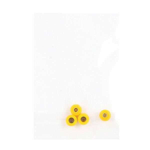 Колеса для скейтборда для фингерборда Turbo-FB ШыLz 8 х 5 мм Yellow