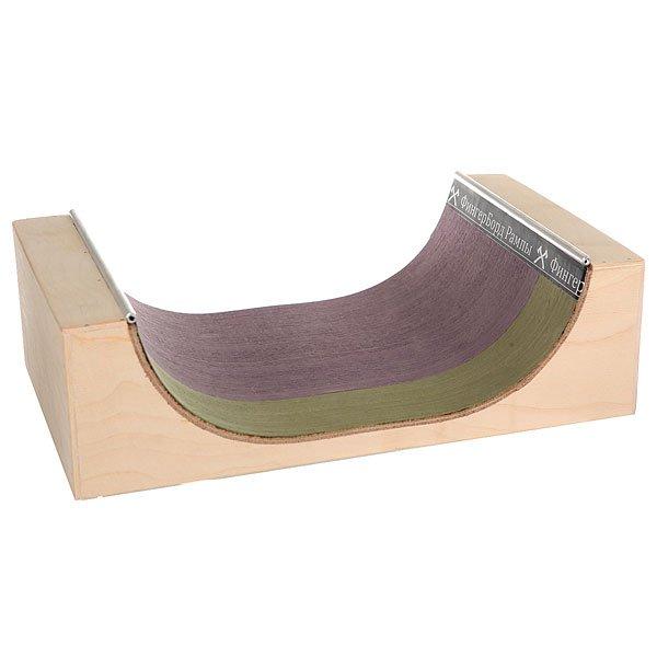 Фигура для фингерпарка Turbo-FB МиниРампа S Beige/Purple/Green
