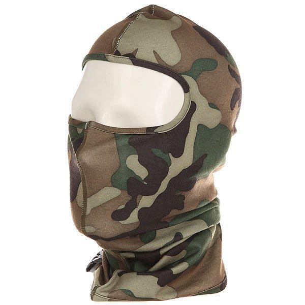 Балаклава Airblaster Ninja Face Camouflage<br><br>Цвет: черный,коричневый,зеленый<br>Тип: Балаклава<br>Возраст: Взрослый<br>Пол: Мужской