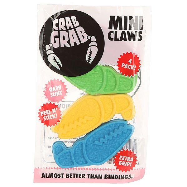 Наклейки на сноуборд Crabgrab Mini Claw Party<br><br>Цвет: мультиколор<br>Тип: Наклейки на сноуборд<br>Возраст: Взрослый<br>Пол: Мужской