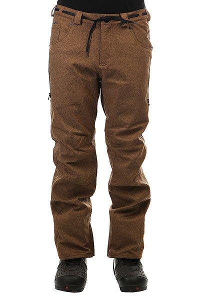 Штаны сноубордические Analog Ag Remer Slouch Caravan TwillСноубордические штаны Analog созданы для удовольствия и выражения своего неповторимого стиля, которым обладает каждый райдер.Технические характеристики: Полностью проклеенные швы.Артикулированные колени для эргономичной посадки.Молнии YKK Metaluxe®.Гетры с крючком для ботинка.Манжеты на молнии.<br><br>Цвет: коричневый<br>Тип: Штаны сноубордические<br>Возраст: Взрослый<br>Пол: Мужской