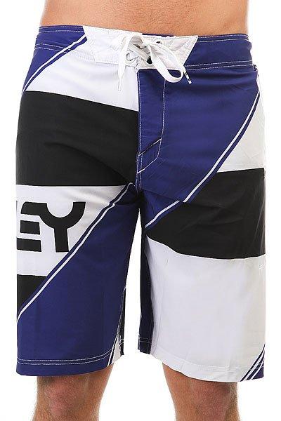 Шорты пляжные Oakley Intense Boardshort Spectrum Blue<br><br>Цвет: черный,белый,синий<br>Тип: Шорты пляжные<br>Возраст: Взрослый<br>Пол: Мужской