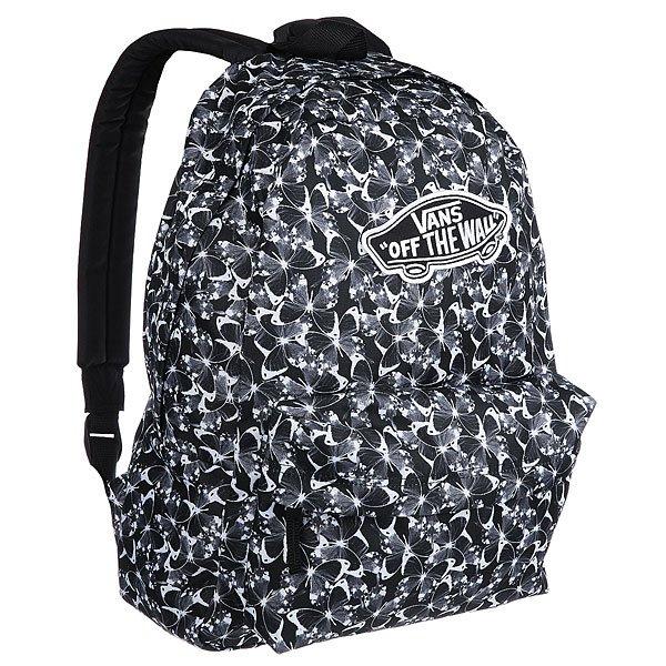 Рюкзак городской женский Vans Realm Backpack Butterfly Black