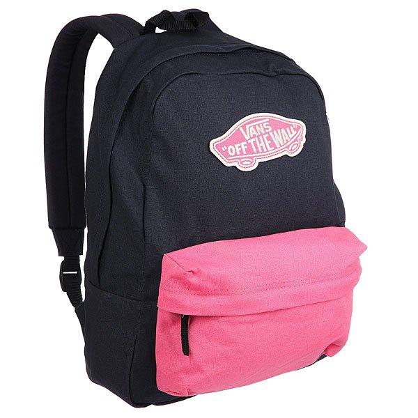 Рюкзак городской женский Vans Realm Backpack Parisian NightСтильный рюкзак со свободной организацией, мягкими лямками и внешним карманом. Рюкзак от Vans станет надежным спутником куда бы Вы ни отправились.Технические характеристики: Одно основное отделение на молнии.Передний карман на молнии.Мягкие плечевые ремни для комфорта.Вышитый логотип Vans.<br><br>Цвет: черный,мультиколор<br>Тип: Рюкзак городской<br>Возраст: Взрослый<br>Пол: Женский