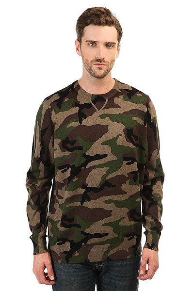 Толстовка свитшот Vans Sayler Camo Heather