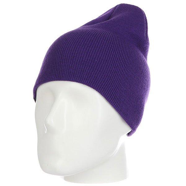 Шапка носок Les Ff Daily Purple<br><br>Цвет: фиолетовый<br>Тип: Шапка носок<br>Возраст: Взрослый<br>Пол: Мужской