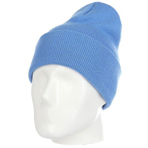 Шапка носок Les Ff Fold Carolina Blue<br><br>Цвет: голубой<br>Тип: Шапка носок<br>Возраст: Взрослый<br>Пол: Мужской