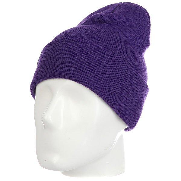 Шапка носок Les Ff Fold Purple<br><br>Цвет: фиолетовый<br>Тип: Шапка носок<br>Возраст: Взрослый<br>Пол: Мужской