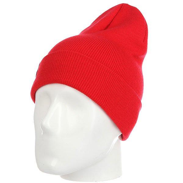 Шапка носок Les Ff Fold Red<br><br>Цвет: красный<br>Тип: Шапка носок<br>Возраст: Взрослый<br>Пол: Мужской