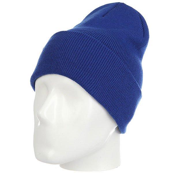 Шапка носок Les Ff Fold Royal<br><br>Цвет: синий<br>Тип: Шапка носок<br>Возраст: Взрослый<br>Пол: Мужской