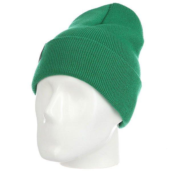 Шапка носок Les Ff Fold Kelly<br><br>Цвет: зеленый<br>Тип: Шапка носок<br>Возраст: Взрослый<br>Пол: Мужской