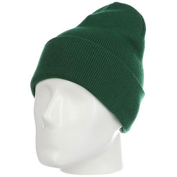 Шапка носок Les Ff Fold Spruce<br><br>Цвет: зеленый<br>Тип: Шапка носок<br>Возраст: Взрослый<br>Пол: Мужской