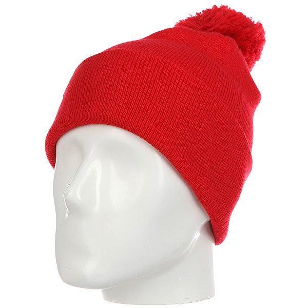 Шапка Les Ff Pom Pom Red<br><br>Цвет: красный<br>Тип: Шапка<br>Возраст: Взрослый<br>Пол: Мужской
