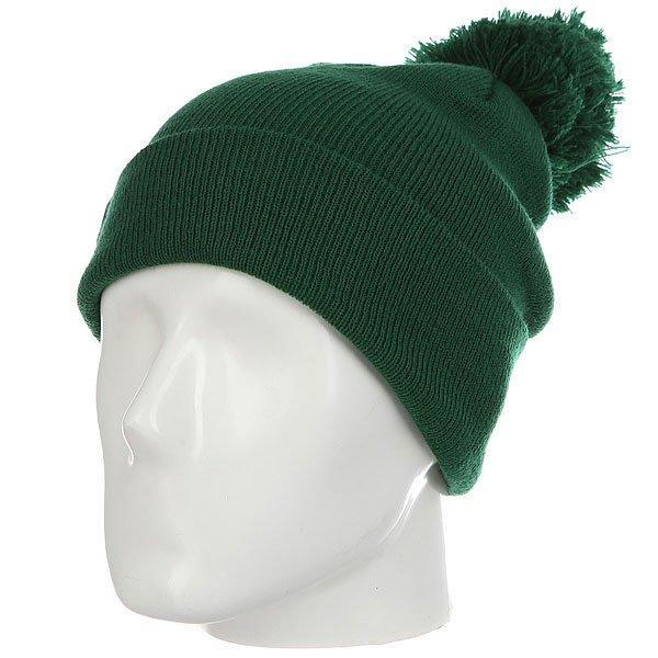 Шапка Les Ff Pom Pom Spruce<br><br>Цвет: зеленый<br>Тип: Шапка<br>Возраст: Взрослый<br>Пол: Мужской
