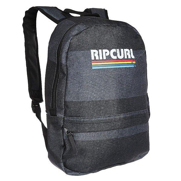 Рюкзак городской Rip Curl Modern Retro Stone 80 GreyКомпактный городской рюкзак со свободной организацией.Технические характеристики: Основное отделение на молнии.Передний карман на молнии.Регулируемые плечевые ремни.<br><br>Цвет: синий,серый<br>Тип: Рюкзак городской<br>Возраст: Взрослый<br>Пол: Мужской