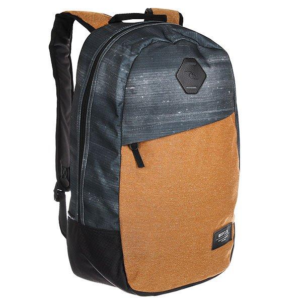 Рюкзак городской Rip Curl Stacker Craft 9 BrownПросторный городской рюкзак со свободной организацией.Технические характеристики: Основное отделение на молнии.Передний карман на молнии.Мягкие и регулируемые плечевые ремни.Карман для ноутбука.<br><br>Цвет: серый,коричневый<br>Тип: Рюкзак городской<br>Возраст: Взрослый