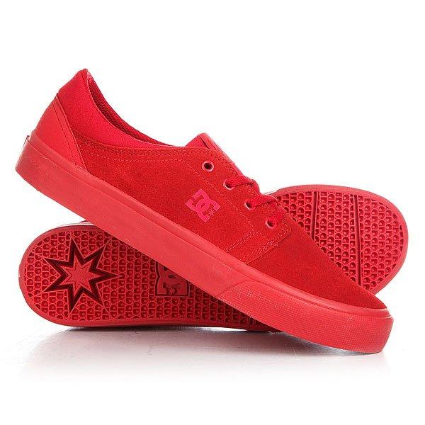 Кеды кроссовки низкие женские DC Trase Sd Red кеды кроссовки низкие dc council sd black military