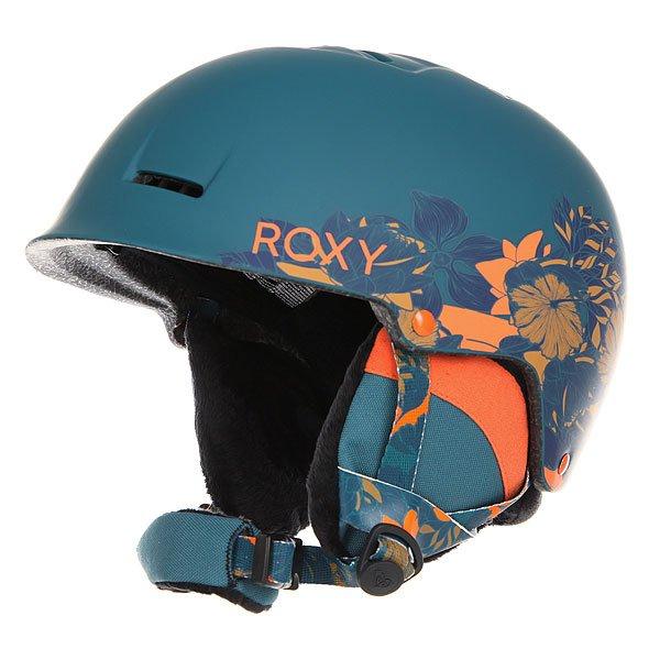 Шлем для сноуборда женский Roxy Avery Amazone Flowers/BlueДействительно легкий шлем, который весит всего 350 грамм, но при этом обладает прочной проверенной двухслойной конструкцией с наполнителем из вспененного EPS материала. Дополнительного комфорта добавляют съемные мягкие формованные амбушюры, выполненные из шерпа флиса и совместимые с аудио-системой, так что Вы всегда сможете брать любимую музыку с собой.Характеристики:Супер легкая двойная формованная оболочка. Внутренний слой из вспененного материала EPS, амортизирующего удары. Фронтальные и верхние вентиляционные отверстия для увеличения потока воздуха.Мягкие термоформованные съемные амбушюры из шерпа-флиса.Совместимость с аудио-системой. Мягкая накладка на подбородок из шерпа-флиса. Крепление для маски. Флисовая и сетчатая подкладка для комфорта и сохранения тепла. Вес: 350 грамм.Состав: 100% пластик.<br><br>Цвет: синий,оранжевый<br>Тип: Шлем для сноуборда<br>Возраст: Взрослый<br>Пол: Женский