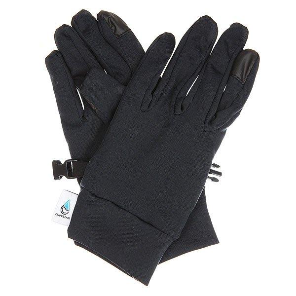 Перчатки женские Roxy E&amp;c Liner Glove True BlackRoxy Enjoy &amp; Care - это вовсе не стандартные тонкие перчати для катания. Это возможность кататься в комфорте и тепле, одновременно заботясь о коже Ваших рук, сохраняя их мягкость и ухоженность. Перчатки выполнены из инновационного косметотекстиля Enjoy &amp; Care, это продукт линейки, выпущенной Roxy совместно с компанией Biotherm. При этом эластичная ткань Powerstretch и эргономичная форма позволят функционально использовать перчатки как самостоятельный элемент, так и в комбинации с варежками.Характеристики:Эластичный материал Powerstretch.Коллаборация Roxy и Biotherm®.Выполнены из косметотекстиля Enjoy &amp; Care, который заботится о коже рук во время того, как Вы катаетесь. Эргономичный крой.Эластичные манжеты. Фирменный логотип на пальце.<br><br>Цвет: черный<br>Тип: Перчатки<br>Возраст: Взрослый<br>Пол: Женский