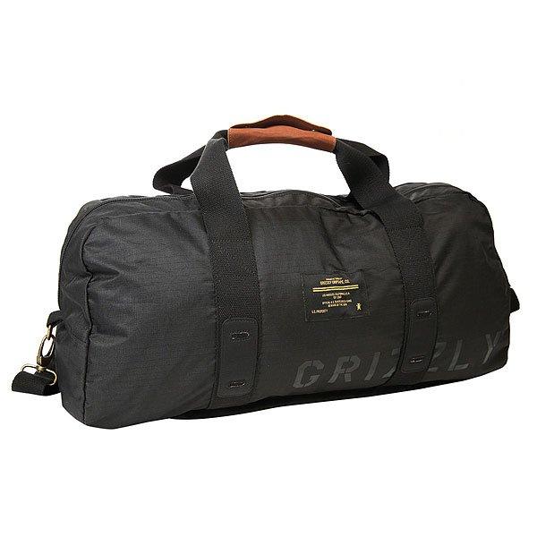 Сумка спортивная Grizzly Military Duffle Bag Black<br><br>Цвет: черный<br>Тип: Сумка спортивная<br>Возраст: Взрослый<br>Пол: Мужской