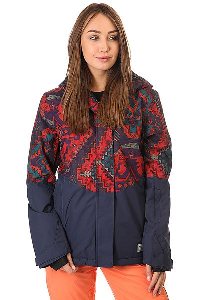 Куртка женская Billabong Akira Get Native Peacoat