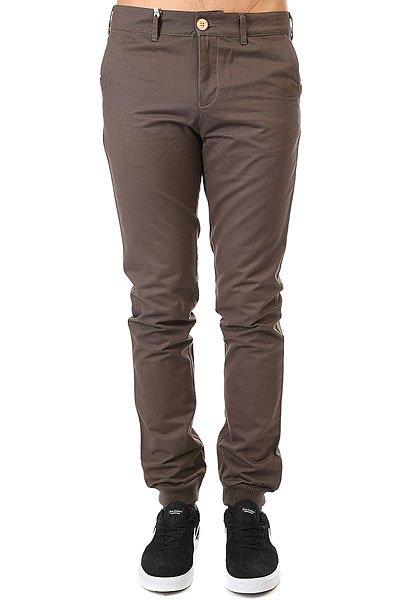 Штаны прямые TrueSpin Classic Chino Joggers Grey<br><br>Цвет: серый<br>Тип: Штаны прямые<br>Возраст: Взрослый<br>Пол: Мужской