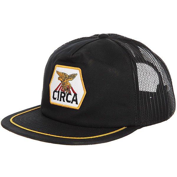 Бейсболка с сеткой Circa Ranger Mesh Snap Back Black circa rtd snap back navy caramel