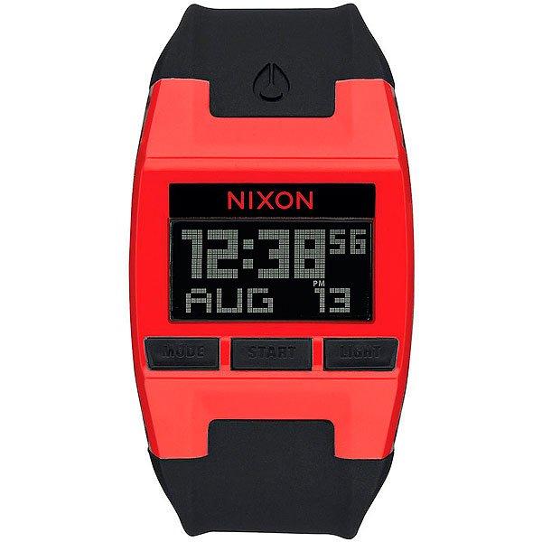 Электронные часы Nixon Comp Red/Black часы nixon corporal ss matte black industrial green
