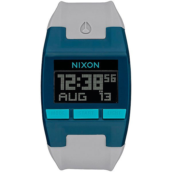 Электронные часы Nixon Comp Teal/Gray nixon comp s