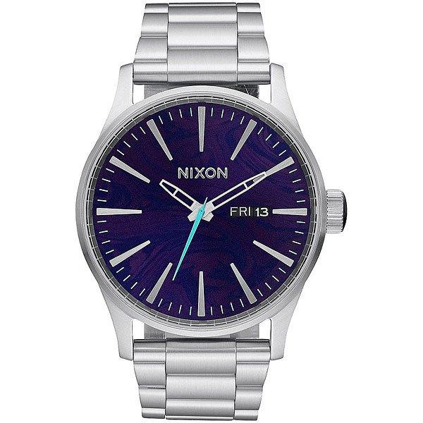 Кварцевые часы Nixon Sentry Ss Purple часы nixon corporal ss matte black industrial green
