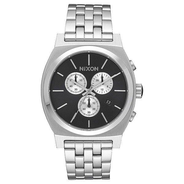 Кварцевые часы Nixon Time Teller Chrono Black Sunray часы nixon corporal ss matte black industrial green