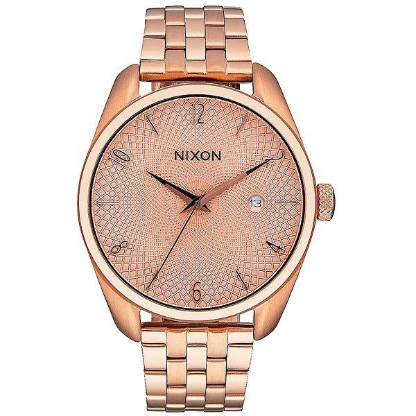 Кварцевые часы женские Nixon Bullet All Rose Gold nixon часы nixon a418 2129 коллекция bullet