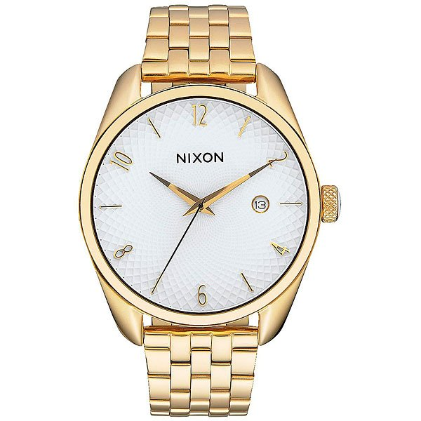 Кварцевые часы женские Nixon Bullet Gold/White часы nixon corporal ss all black
