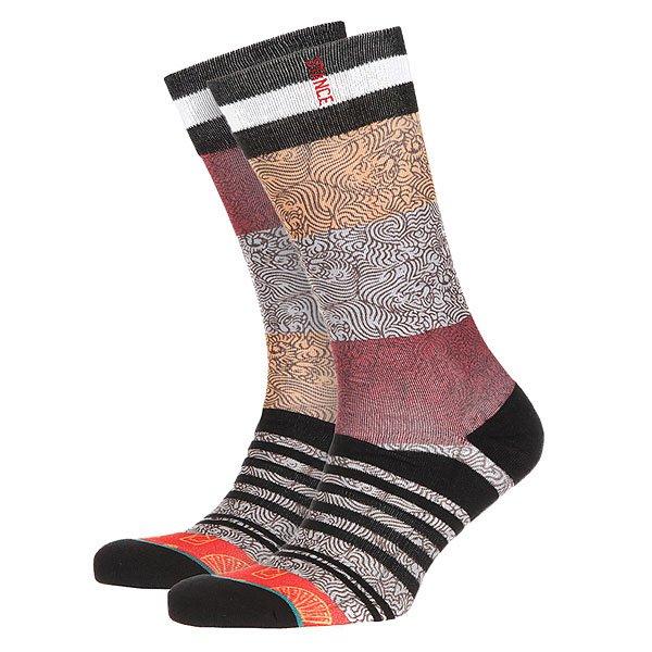 Носки средние Stance D Wade Chiney Multi<br><br>Цвет: черный,мультиколор<br>Тип: Носки средние<br>Возраст: Взрослый<br>Пол: Мужской