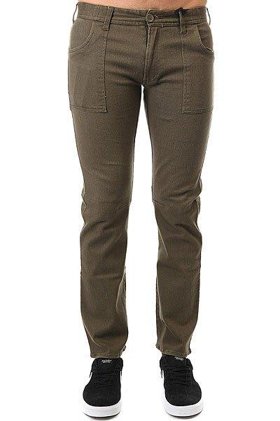 Штаны прямые Fallen Military Pant Dark Olive<br><br>Цвет: зеленый<br>Тип: Штаны прямые<br>Возраст: Взрослый<br>Пол: Мужской