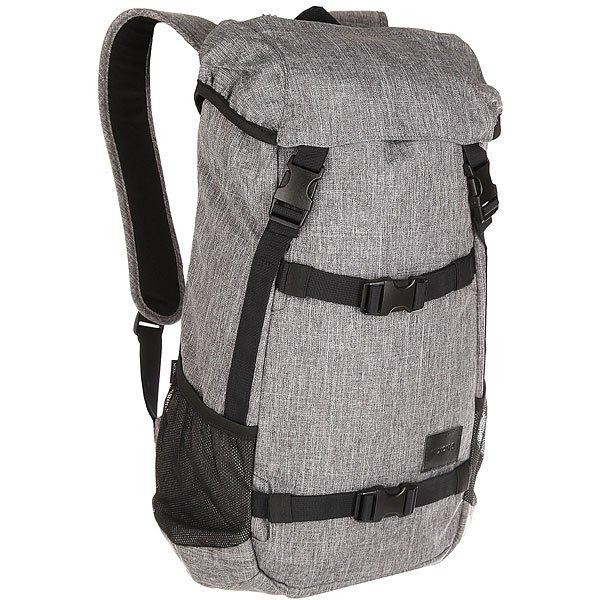 Рюкзак туристический Nixon Landlock Backpack Se Black Wash<br><br>Цвет: серый,черный<br>Тип: Рюкзак туристический<br>Возраст: Взрослый<br>Пол: Мужской