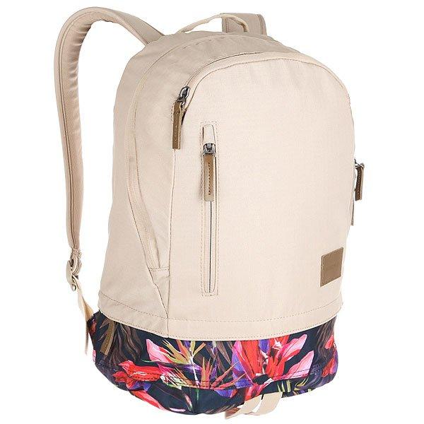 Рюкзак городской Nixon Ridge Backpack Se Khaki/Multi<br><br>Цвет: бежевый<br>Тип: Рюкзак городской<br>Возраст: Взрослый<br>Пол: Мужской