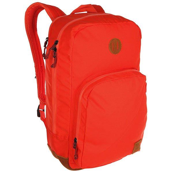 Рюкзак городской Nixon Range Backpack Lobster<br><br>Цвет: красный<br>Тип: Рюкзак городской<br>Возраст: Взрослый