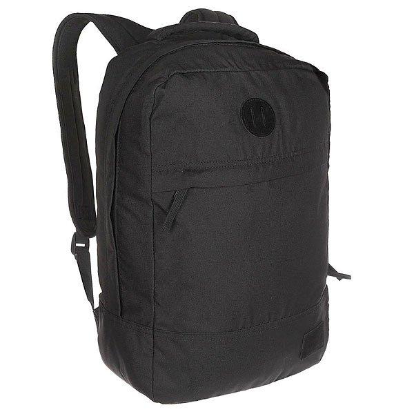 Рюкзак городской Nixon Beacons Backpack All BlackРюкзак Beacons представлен как в нескольких действительно оригинальных расцветках, так и в классическом однотонном варианте. Благодаря вместительности и прочным качественным материалам, из которых изготовлен рюкзак, это отличный, надёжный вариант на каждый день. Характеристики:Основное отделение на молнии. Внутренние карманы. Внешний карман на молнии. Мягкие регулируемые лямки с сетчатыми вставками. Ручка для переноски.<br><br>Цвет: черный<br>Тип: Рюкзак городской<br>Возраст: Взрослый