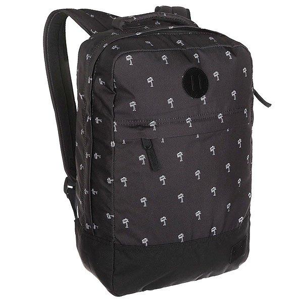 Рюкзак городской Nixon Beacons Backpack Black/WhiteРюкзак Beacons представлен как в нескольких действительно оригинальных расцветках, так и в классическом однотонном варианте. Благодаря вместительности и прочным качественным материалам, из которых изготовлен рюкзак, это отличный, надёжный вариант на каждый день. Характеристики:Основное отделение на молнии. Внутренние карманы. Внешний карман на молнии. Мягкие регулируемые лямки с сетчатыми вставками. Ручка для переноски.<br><br>Цвет: черный<br>Тип: Рюкзак городской<br>Возраст: Взрослый