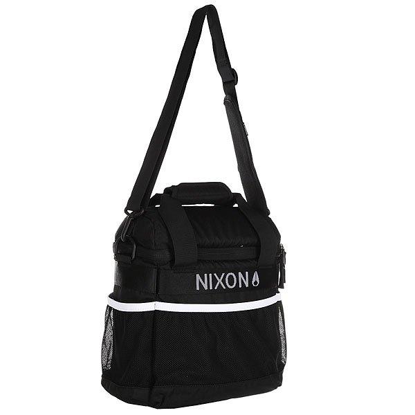 Сумка через плечо Nixon Windansea Cooler Bag Black/White<br><br>Цвет: черный<br>Тип: Сумка через плечо<br>Возраст: Взрослый<br>Пол: Мужской