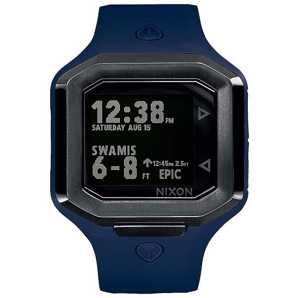 Кварцевые часы Nixon Ultratide Blue/GunmetalЭволюция времени и технологий, часы Ultratide являются результатом обширных исследований и эксклюзивного партнерства с Surfline.Технические характеристики: Цифровой модуль с данными, предоставленными Surfline. Он имеет дисплей высокого разрешения, данные на котором постоянно обновляются с учетом текущего прогноза Surfline (данные о ваших любимых местах для серфинга по всему миру).Возможность выбрать любимое место для серфинга в сети Surfline, сделать прогноз в удобном формате на 10 точек.Surfline предоставляет данные о текущей высоте, направлении волны, температуре воды, воздуха, погоды и данные о приливах и отливах в течении 48 часов с прогнозируемым временем и высотой.Ultratide автоматически находит ближайший спот к вашему текущему местоположению.Легкая настройка в одно касание, чтобы синхронизировать часы с телефоном.Серф-оповещения для ваших любимых мест.Поделитесь своими серфинг-сессиями с помощью Ultratide  (только для iOS).Стальной сердечник с изготовленным на заказ корпусом из полиуретана и силикона.Безель из нержавеющей стали.Закаленное минеральное стекло.Литой силиконовый ремешок с запатентованной блокировкой и пряжкой из нержавеющей стали.<br><br>Цвет: серый,коричневый<br>Тип: Кварцевые часы<br>Возраст: Взрослый<br>Пол: Мужской