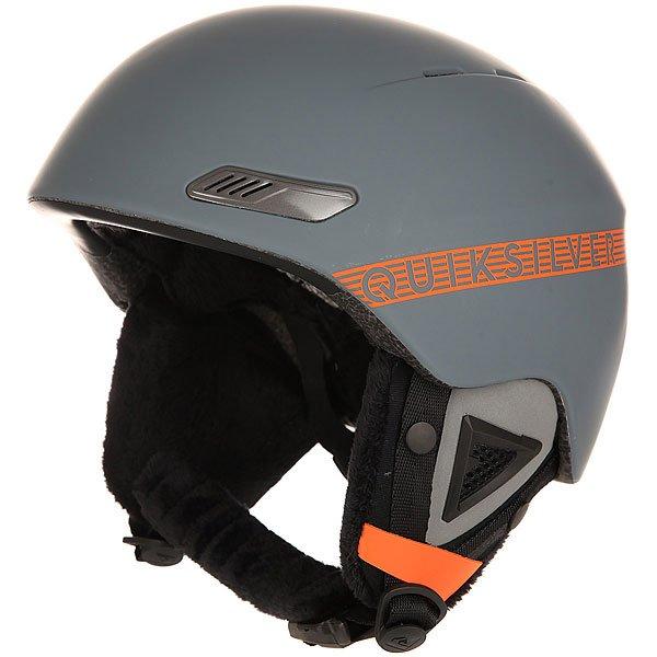 Шлем для сноуборда Quiksilver Buena Vista Quiet Shade<br><br>Цвет: серый<br>Тип: Шлем для сноуборда<br>Возраст: Взрослый<br>Пол: Мужской