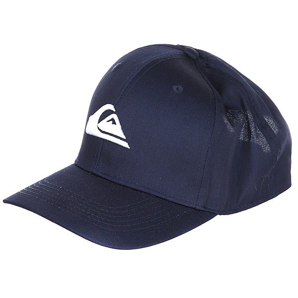 Бейсболка классическая Quiksilver Decades Navy Blazer<br><br>Цвет: синий<br>Тип: Бейсболка классическая<br>Возраст: Взрослый<br>Пол: Мужской