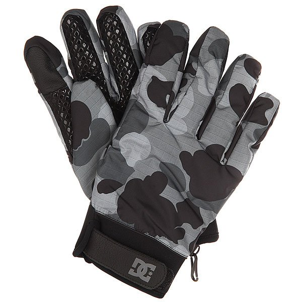 Перчатки сноубордические DC Radian Glove Camouflage Lodge Gre