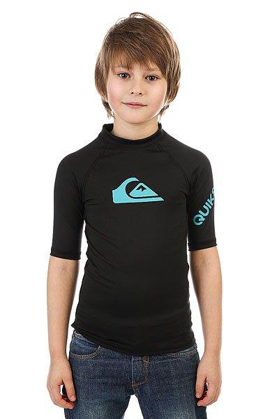 Гидрофутболка детская Quiksilver All Time Boy True Black шапка носок детская quiksilver preference black